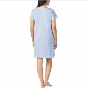 Midnight by Carole Hochman Intimates & Sleepwear - Carole Hochman Womens Chemise Nightgown Robe Set 2